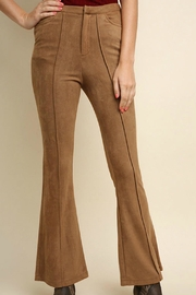 Umgee USA Suede Wide Legs - Front cropped