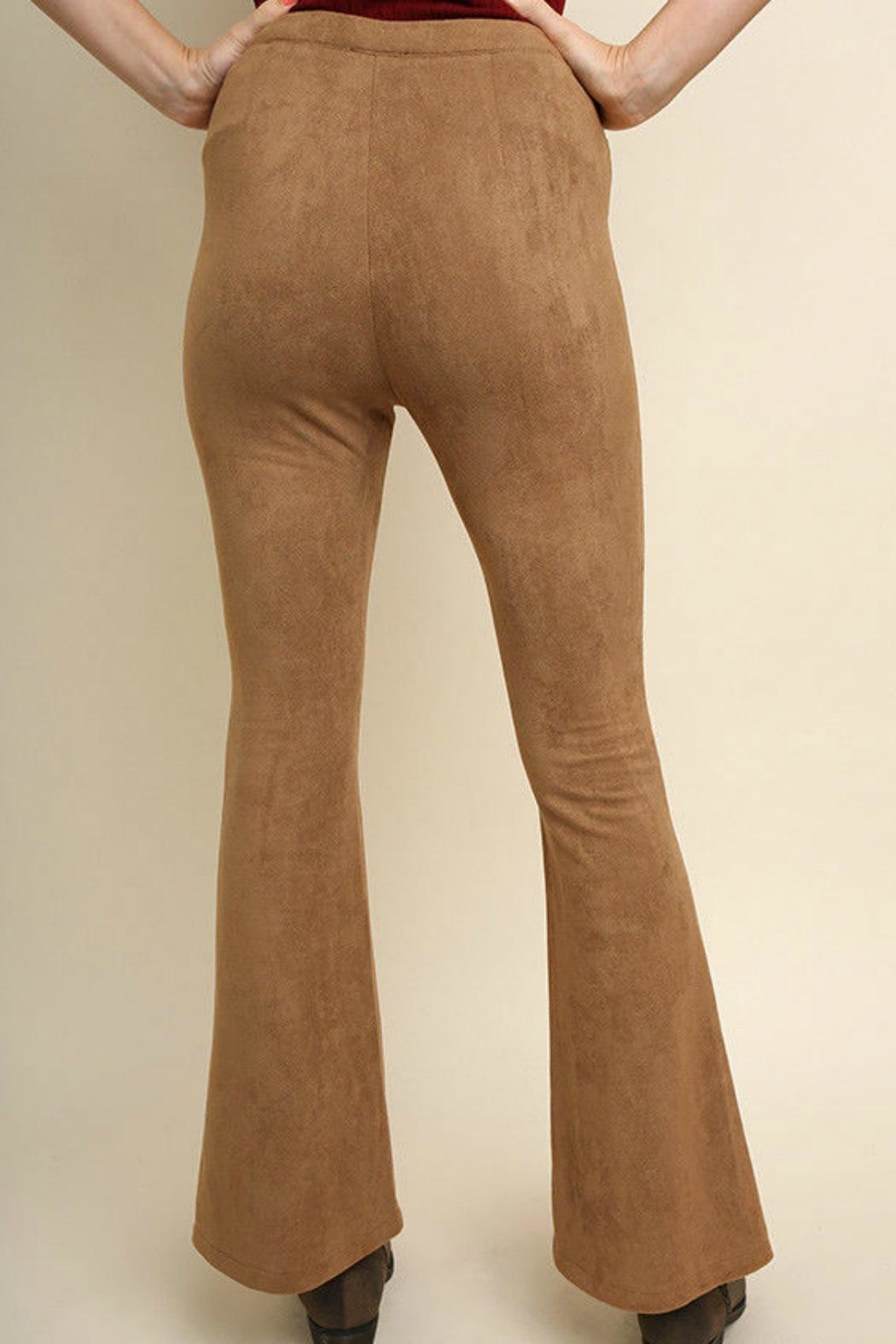 Umgee USA Suede Wide Legs - Side Cropped Image