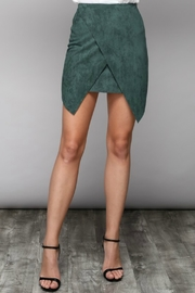 Do & Be Suede Wrap Skirt - Product Mini Image