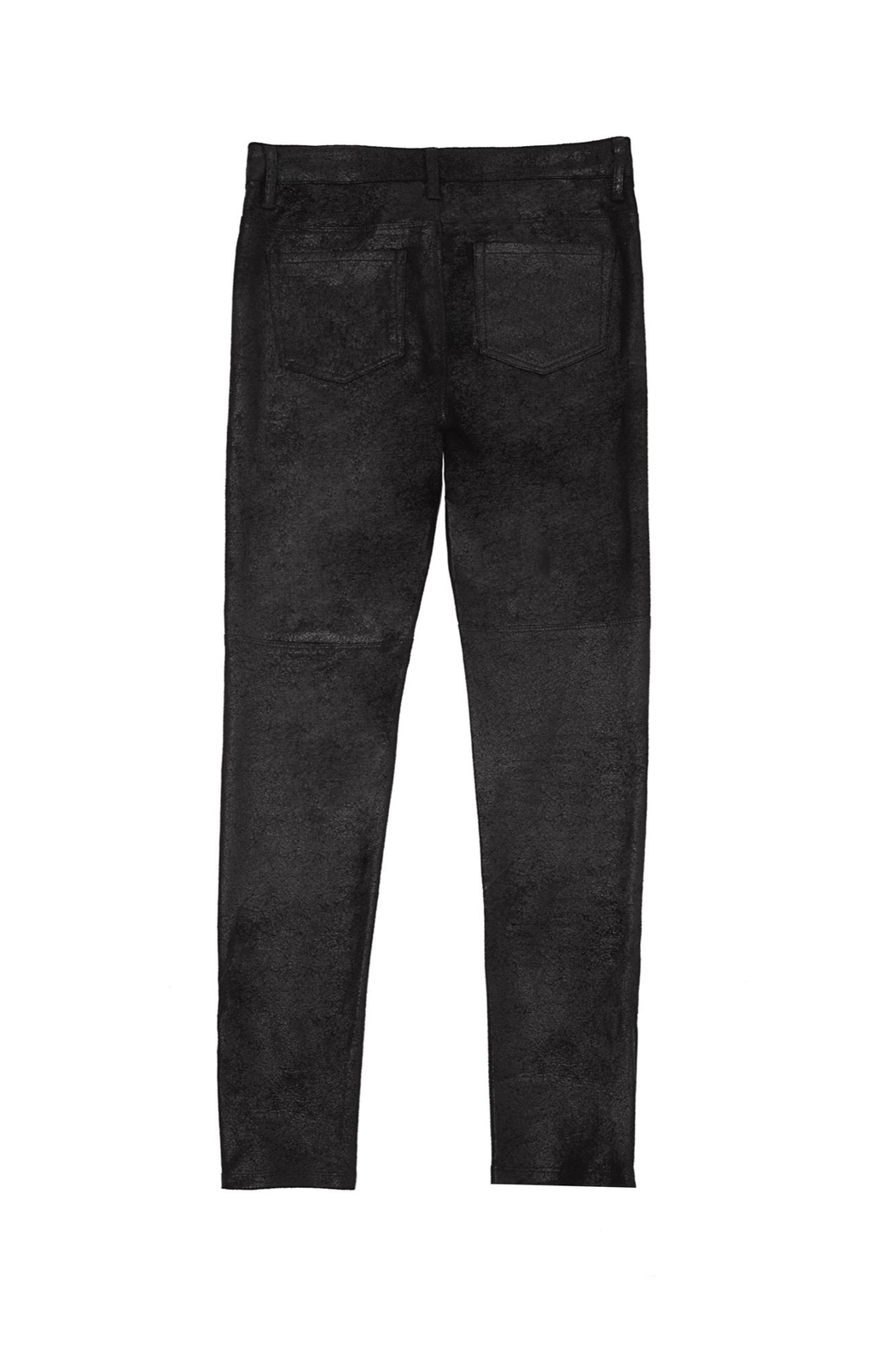 MIA New York Sueded Crackle Pants - Front Full Image