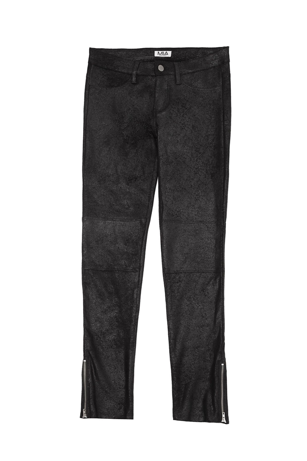 MIA New York Sueded Crackle Pants - Main Image