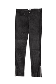 MIA New York Sueded Crackle Pants - Front cropped
