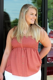 Doe & Rae Sugar and Spice Tank - Front cropped