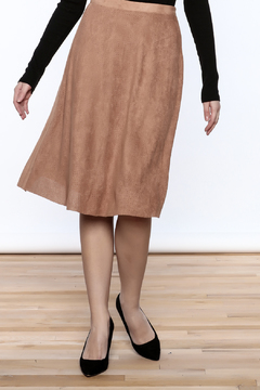 Shoptiques Product: Alamode Suede Skirt