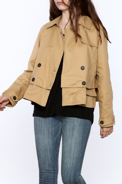 Shoptiques Product: Modern Day Camel Jacket