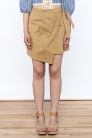 Sugar Lips Cargo Wrap Skirt - Side cropped
