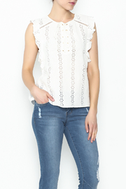 Sugar Lips Coretta Ruffle Top - Product Mini Image