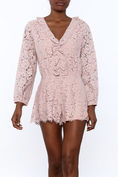 Shoptiques Product: Crochet Romper