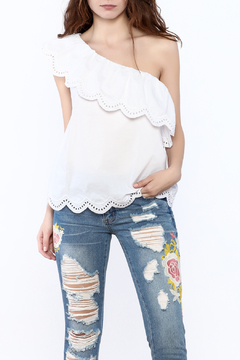 Shoptiques Product: White Off-Shoulder Top