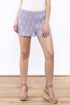 Shoptiques Product: Textured Lavender Shorts