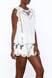 Shoptiques Product: Embroidered Tank