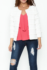 Sugar Lips Frayed Trim Jacket - Product Mini Image