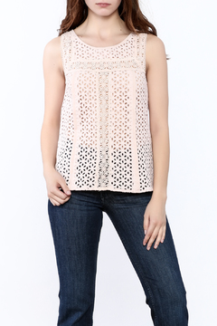Shoptiques Product: Lace And Eyelet Top
