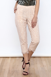 Sugar Lips Lace Crop Pant - Product Mini Image
