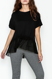 Sugar Lips Short Sleeve Knit Top - Product Mini Image