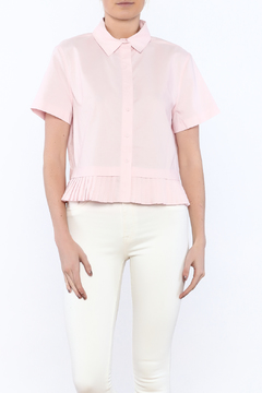 Shoptiques Product: Pink Button-Down Blouse