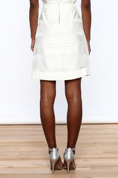 Sugar Lips White Stripes Skirt - Alternate List Image
