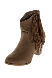 SUGAR Short Fringe Bootie - Product Mini Image