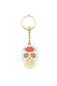 The Found Sugar Skull Keychain - Alternate List Image