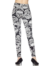 New Mix Sugar Skull Legging - Side cropped