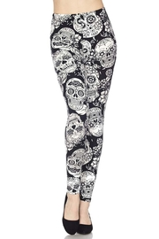 New Mix Sugar Skull Legging - Front cropped