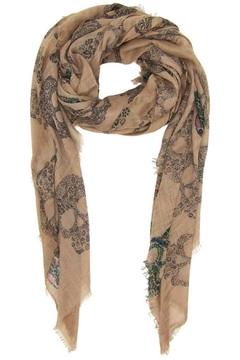 Blue Pacific Sugar Skull Scarf - Product List Image