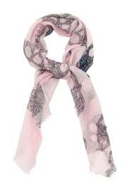 Blue Pacific Sugar Skull Scarf - Side cropped
