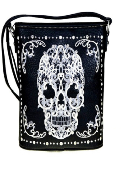American Bling Sugar Skull Tote Bag - Product List Image