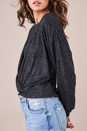 Sugar Lips All Twisted Top - Back cropped