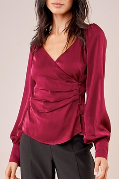 Sugar Lips Angelina Surplice Blouse - Product List Image