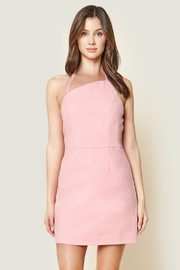 Sugar Lips Asymmetrical Pink Dress - Product Mini Image