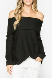 Sugar Lips Ayana Off-The-Shoulder Sweater - Product Mini Image