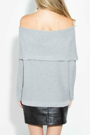 Sugar Lips Ayana Off Shoulder Sweater - Front full body