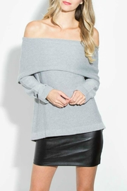Sugar Lips Ayana Off Shoulder Sweater - Product Mini Image
