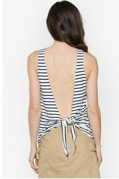 Sugar Lips Backless Stripe Tank - Product List Image