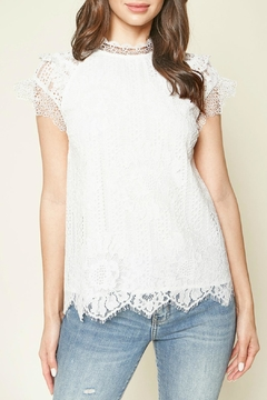 Sugar Lips Belize Lace Top - Product List Image