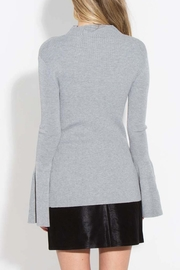Sugar Lips Bell Sleeve Sweater - Back cropped