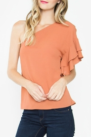 Sugar Lips Betina One Shoulder Top - Product Mini Image