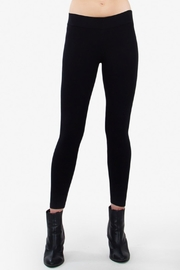 Sugar Lips Black Ponte Leggings - Product Mini Image