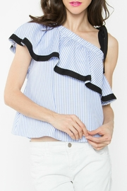 Sugar Lips Chloe One-Shoulder Top - Product Mini Image