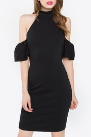 Sugar Lips Cold Shoulder Midi Dress - Product Mini Image