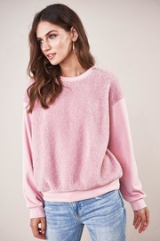 Sugar Lips Cristin Teddy Sweatshirt - Product Mini Image