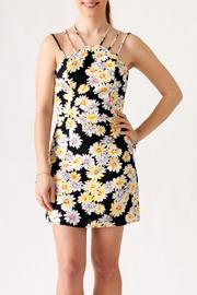Sugar Lips Daisy Print Dress - Product Mini Image