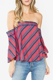 Sugar Lips Delancey Off-The-Shoulder Top - Product Mini Image