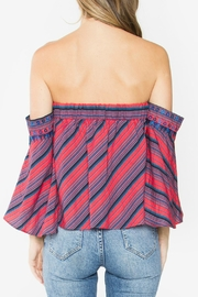 Sugar Lips Delancey Off-The-Shoulder Top - Front full body