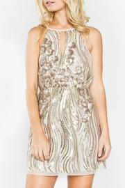 Sugar Lips Destiny Sequin Dress - Product Mini Image