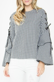 Sugar Lips Donni Gingham Top - Product Mini Image