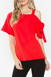 Sugar Lips Erica One-Shoulder Top - Product Mini Image