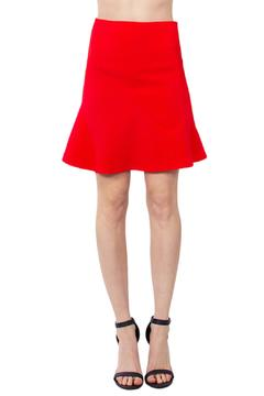 Shoptiques Product: Flared Red Skirt