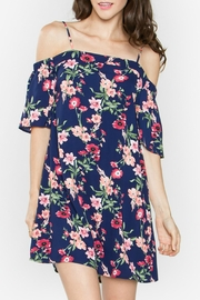 Sugar Lips Floral Off The Shoulder Dress - Product Mini Image